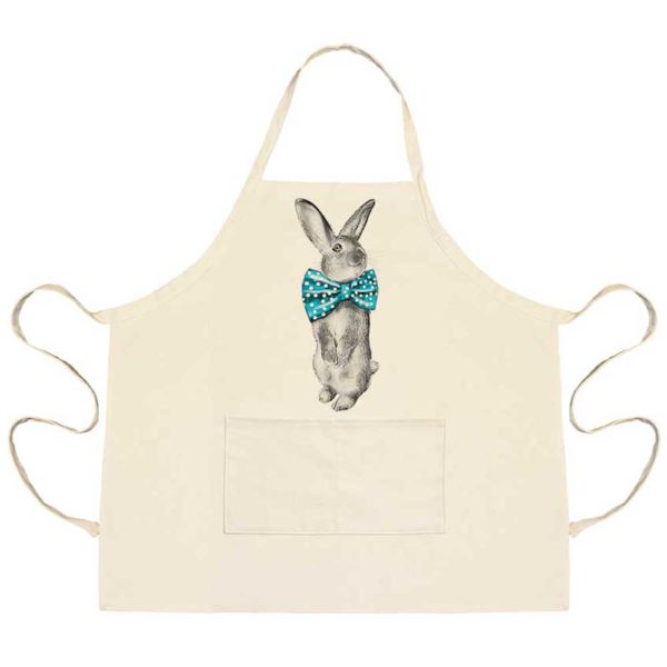 Bunny Bowtie Apron