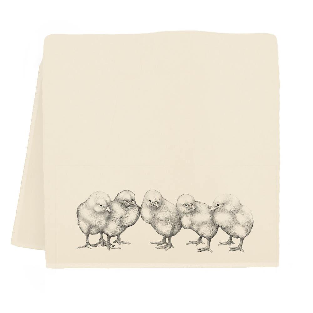 Baby Chicks Tea Towel