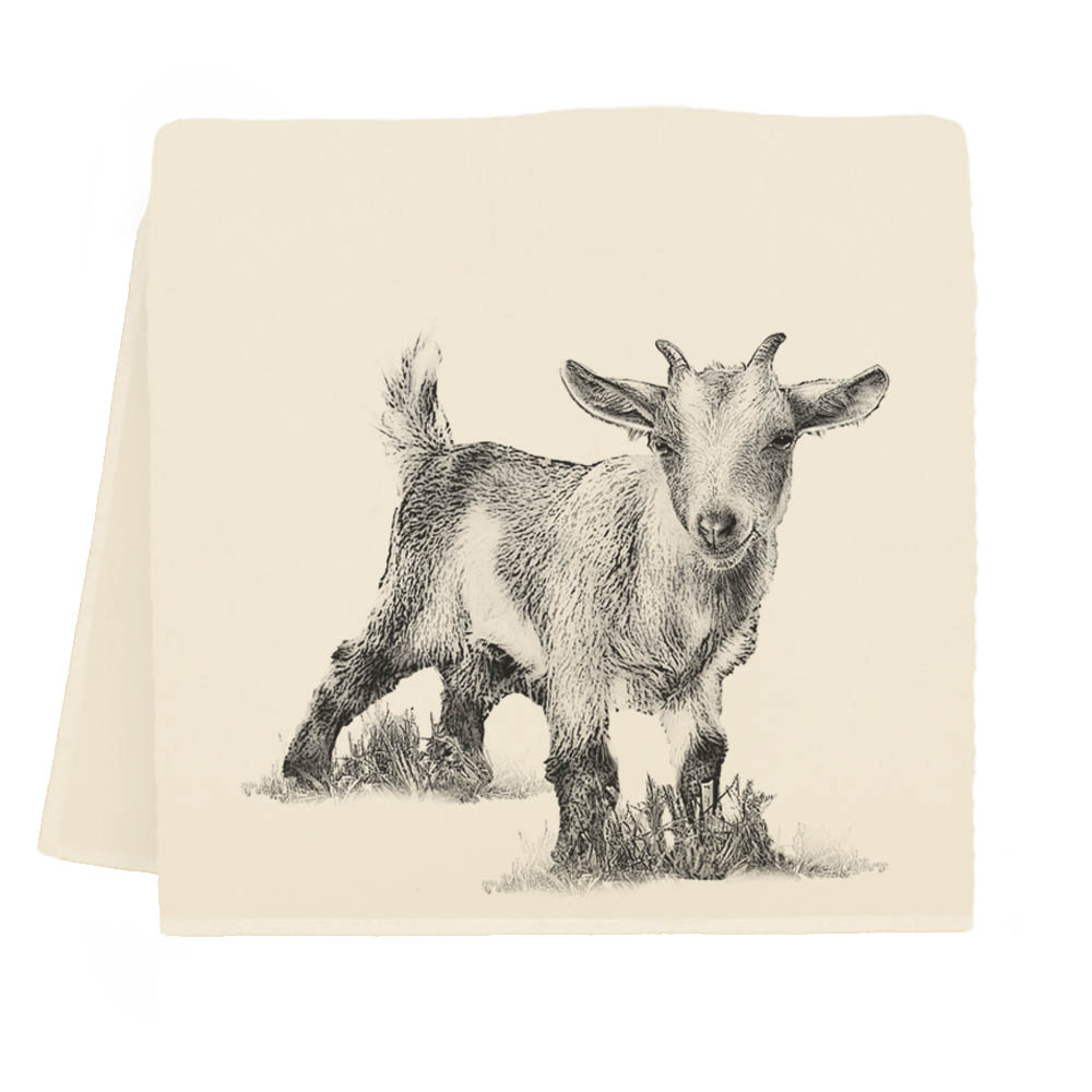 Baby Goat #3 Tea Towel