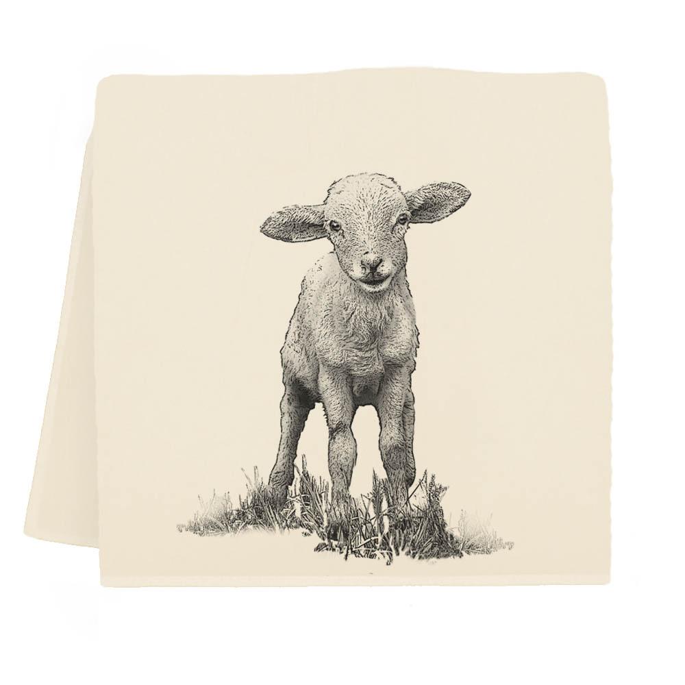 Baby Lamb Tea Towel