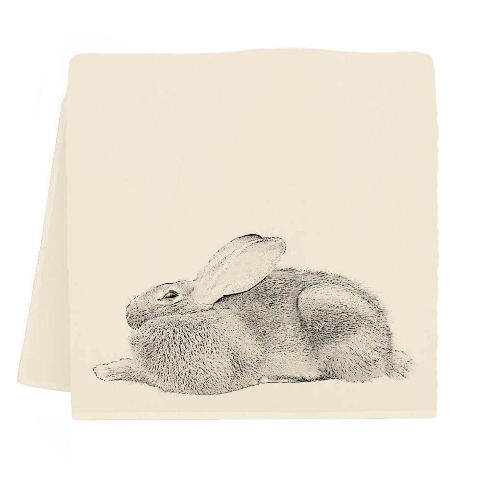 Bunny #5 Tea Towel