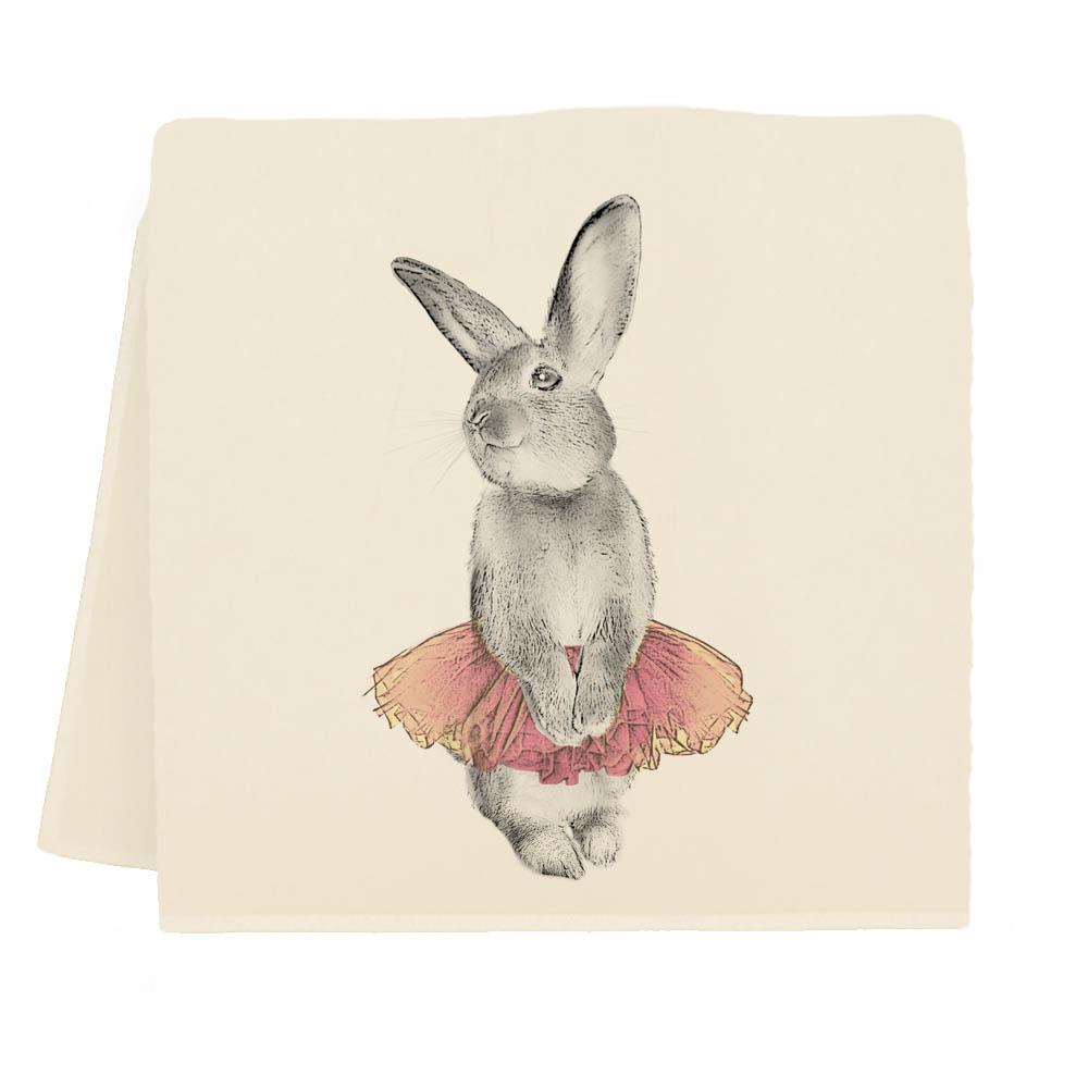 Bunny Tutu Tea Towel