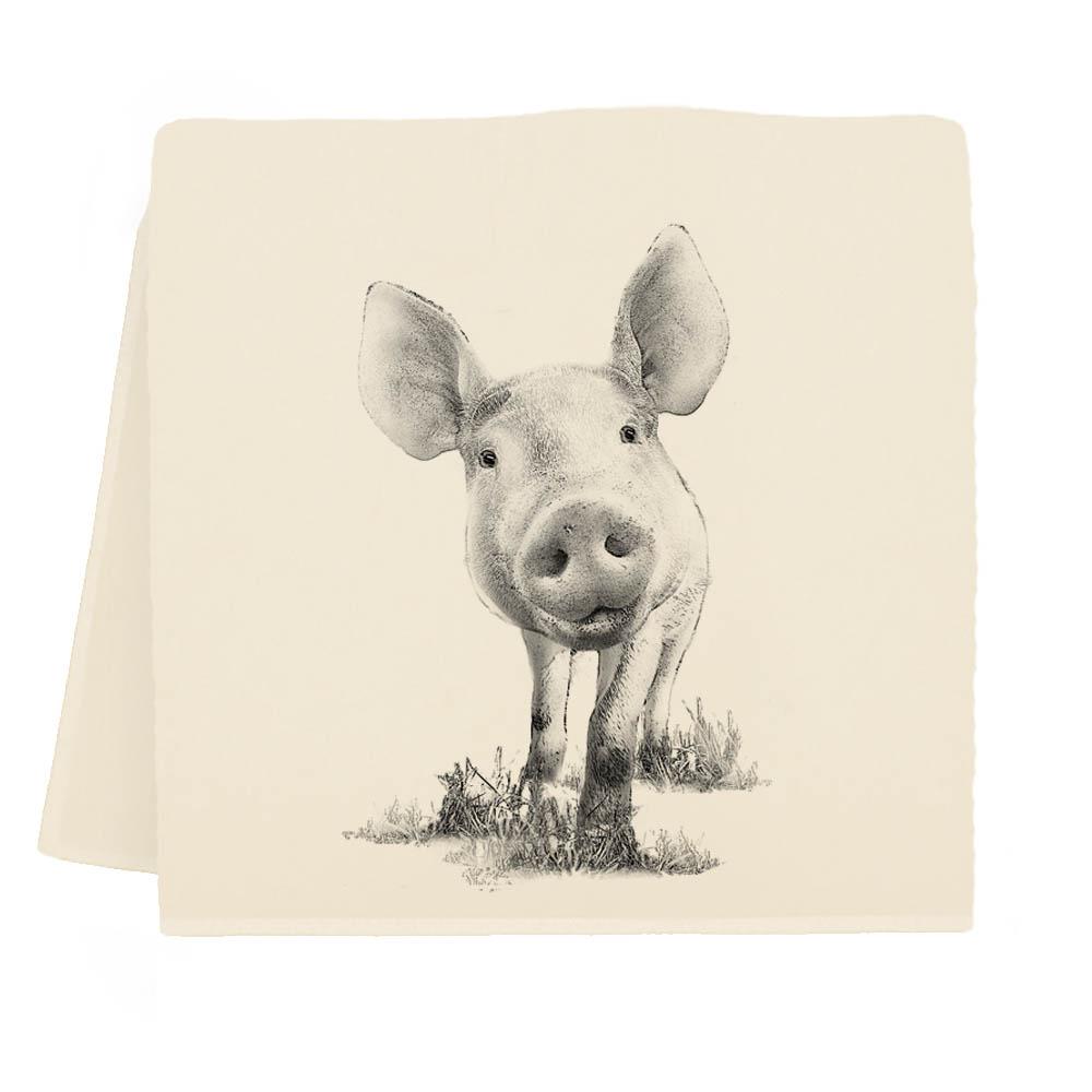 Piglet #3 Tea Towel