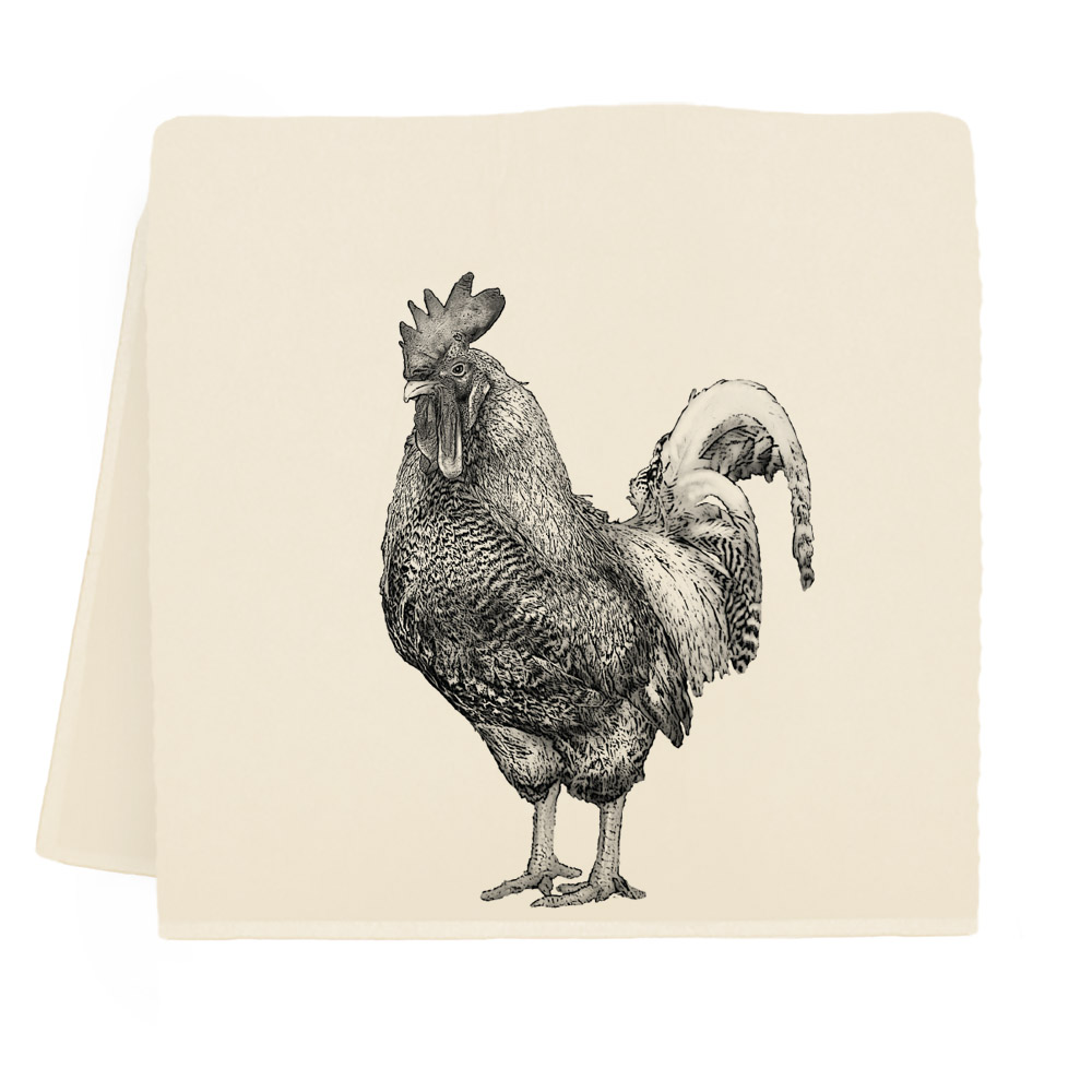 Rooster #2 Tea Towel