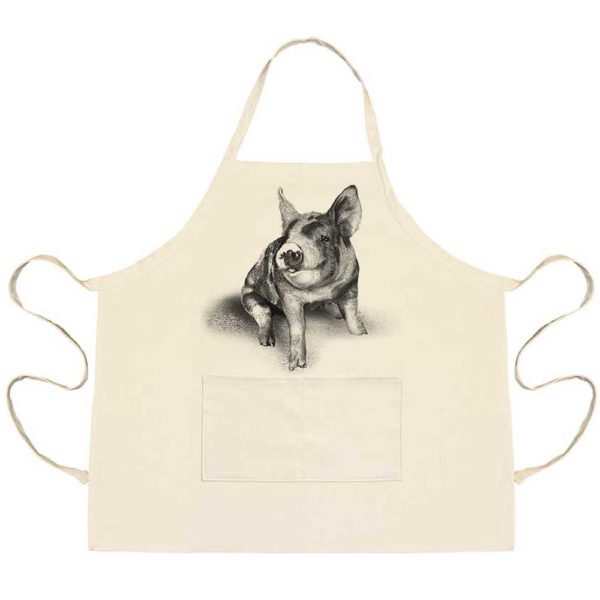 Piglet #2 Apron with Pockets