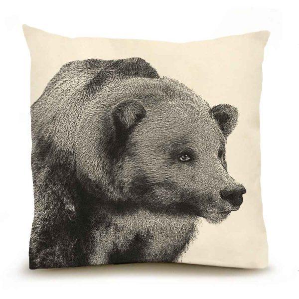 Bear #2 Large Pillow