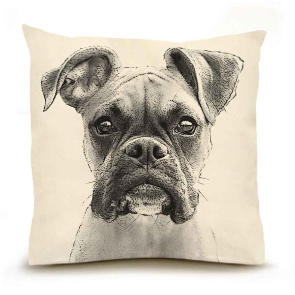 Boxer Large Pillow