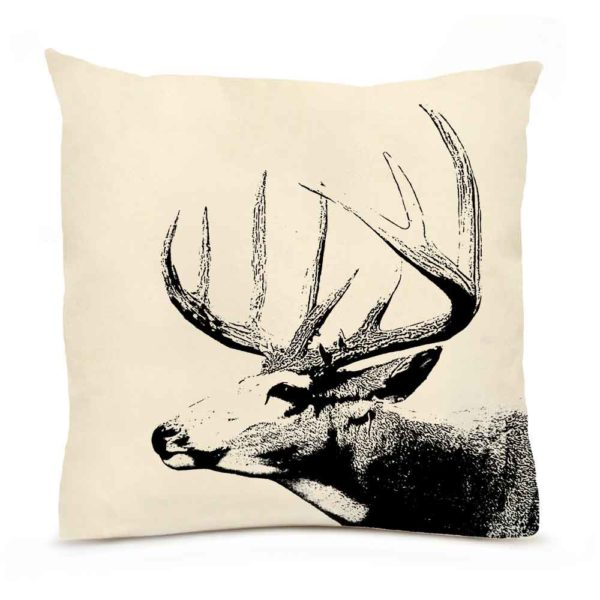 Buck #1 Large Pillow