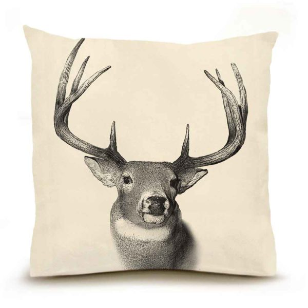 Buck #2 Large Pillow