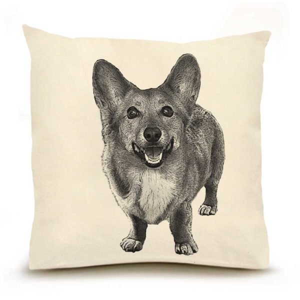 Corgi Large PIllow