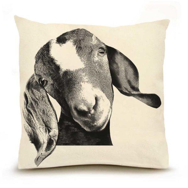 Goat Head Pillow
