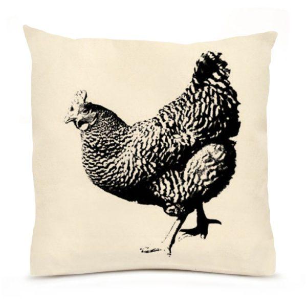 Hen Full Body Large Pillow