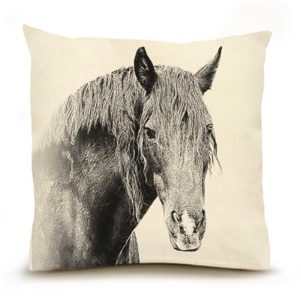 Horse #2 Large PIllow