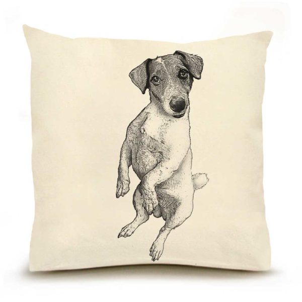 Jack Russel Large Pillow