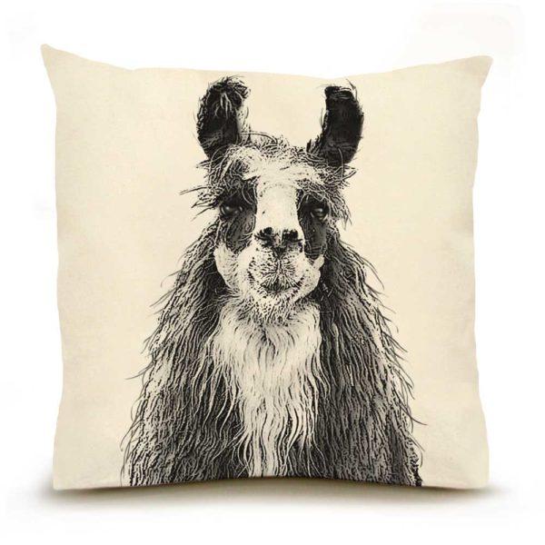 Llama #1 Large Pillow