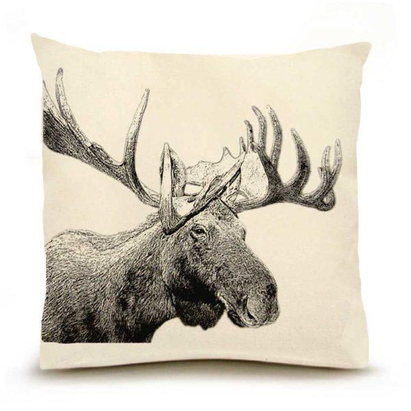 Moose #1 Large PIllow