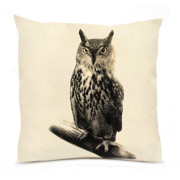 Owl Large Pillow