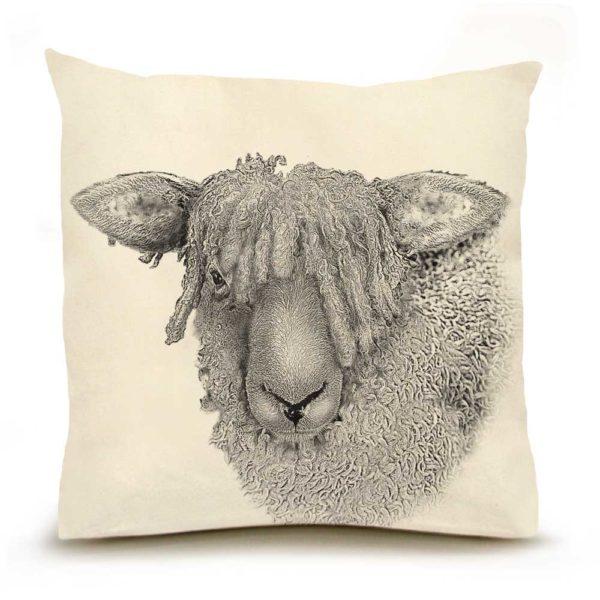 Sheep #2 Large Pillow