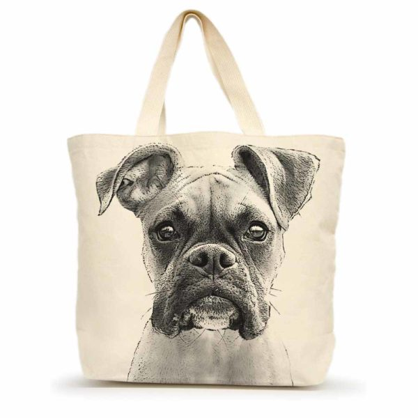 Boxer Large Tote