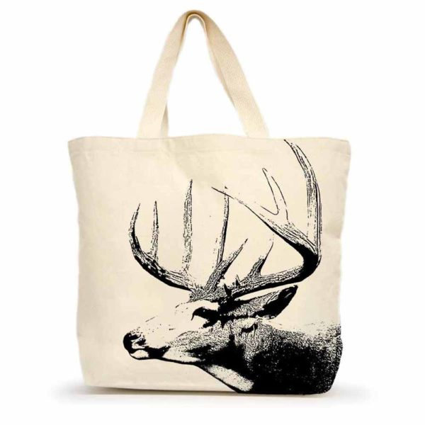 Buck #1 Large Tote