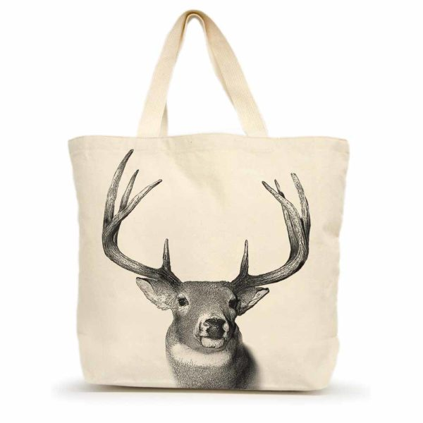 Buck #2 Large Tote