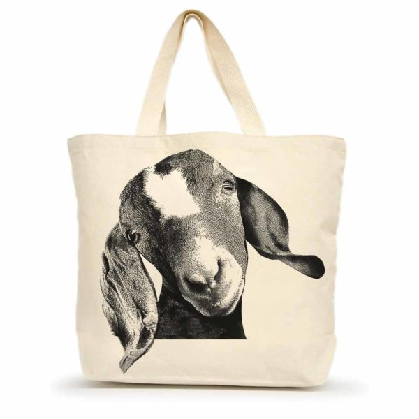 Goat Head Large Tote