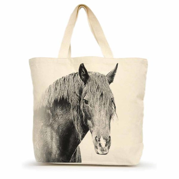 Horse #2 Large Tote