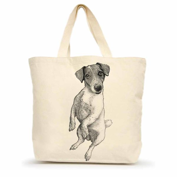 Jack Russel Large Tote