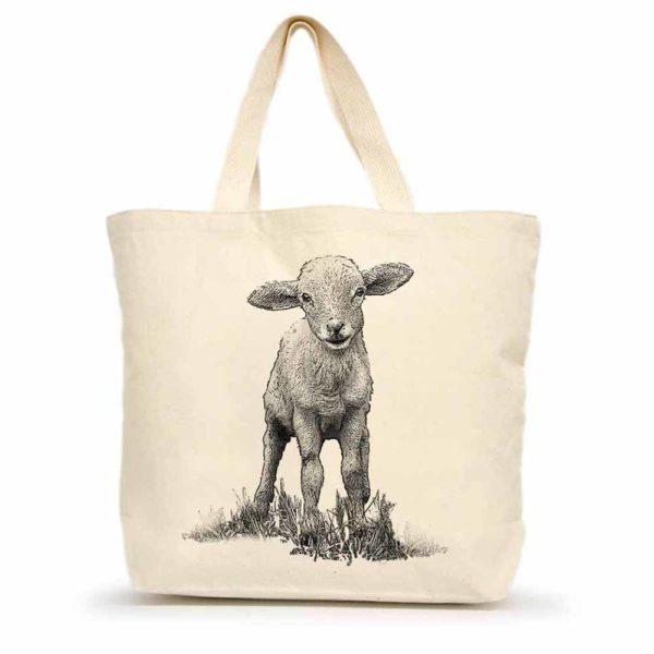 Lamb Large Tote