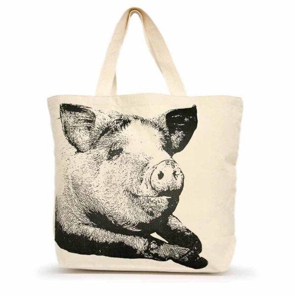 Pig #1 Large Tote
