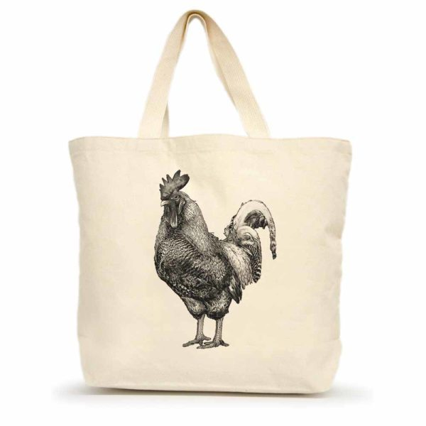 Rooster #2 Large Tote