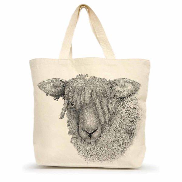 Sheep #2 Large Tote