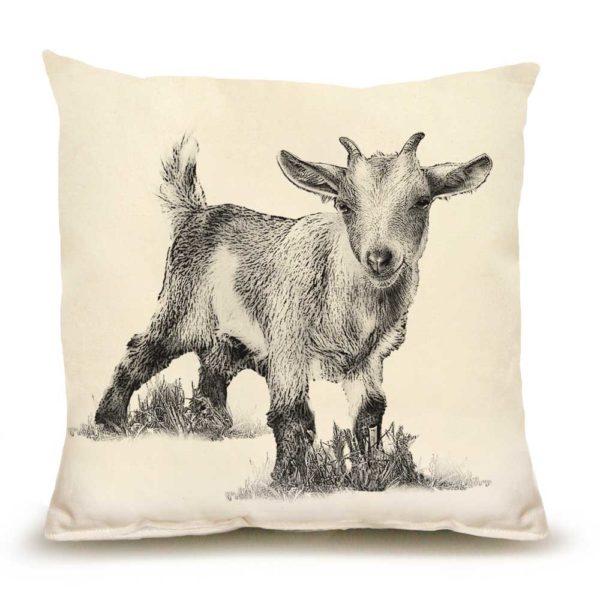 Baby Goat #3 Medium Pillow
