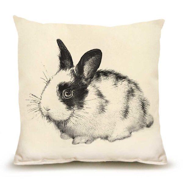 Bunny #3 Medium Pillow