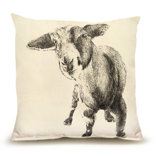 Goat #2 Medium Pillow