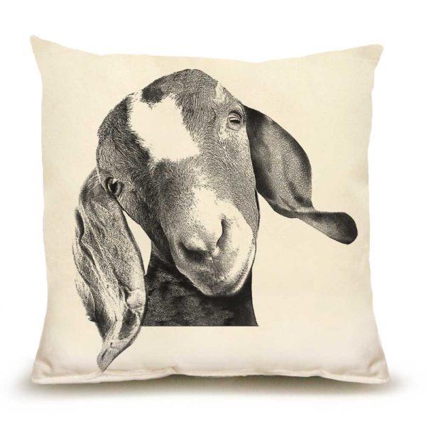 Goat Head Medium Pillow