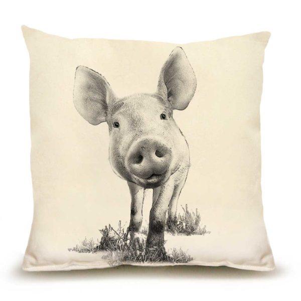 Baby Piglet #3 Medium Pillow