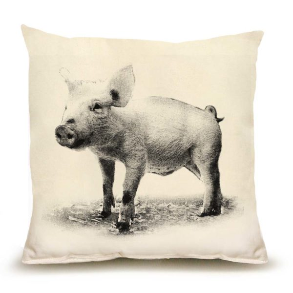 Piglet #1 Medium Pillow