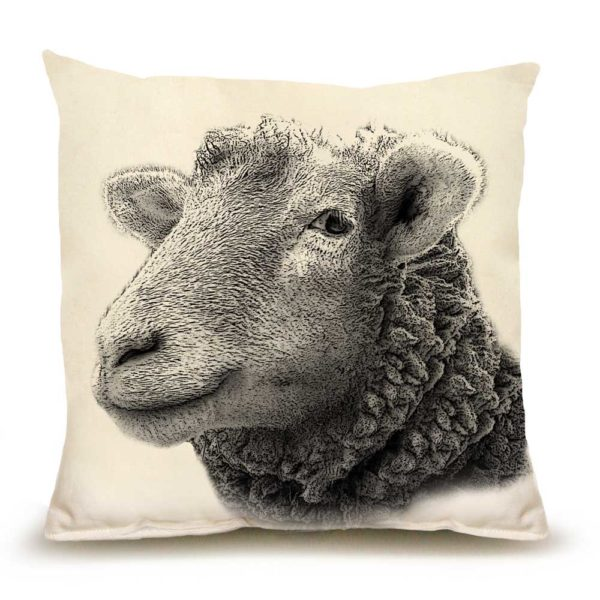 Sheep #1 Medium Pillow