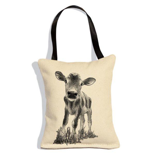 "Baby Cow ""Cowboy"" Ornament"