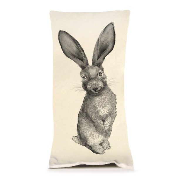 Bunny #4 Small Pillow