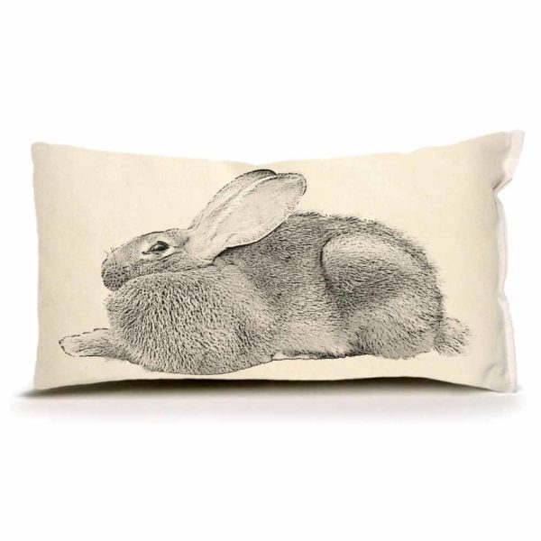 Bunny #5 Small Pillow