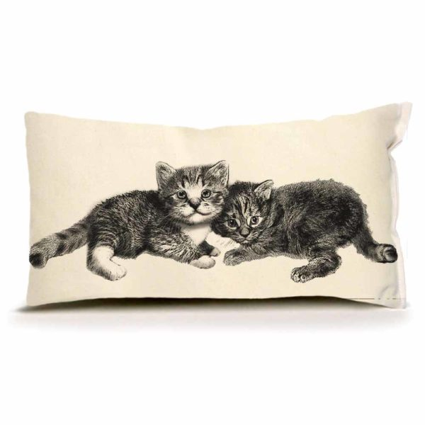 Kittens Small Pillow