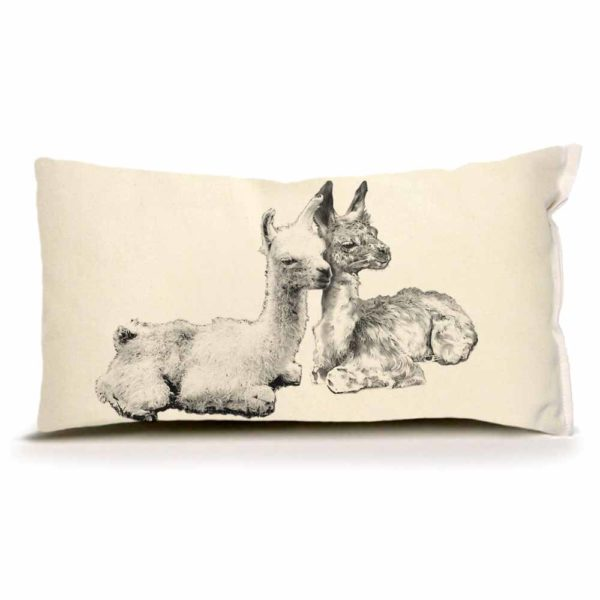 Llama #2 Small Pillow