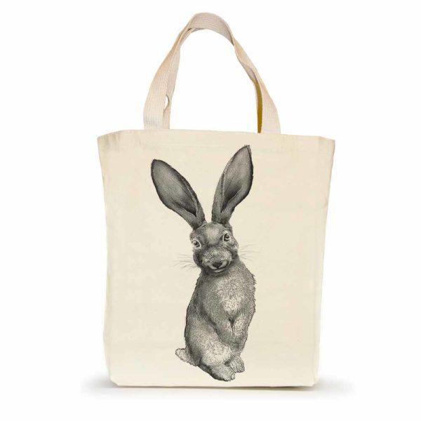 Bunny #4 Small Tote