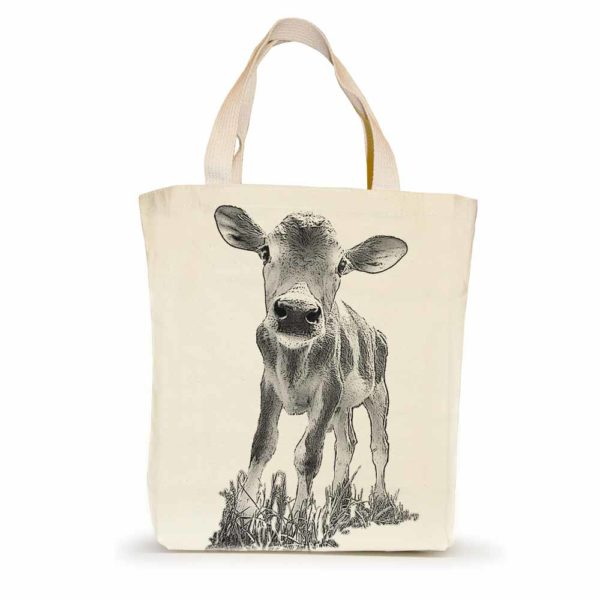 """Baby Cow """"Cowboy"""" Small Tote"""