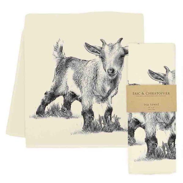 Baby Goat #3 Tea Towel