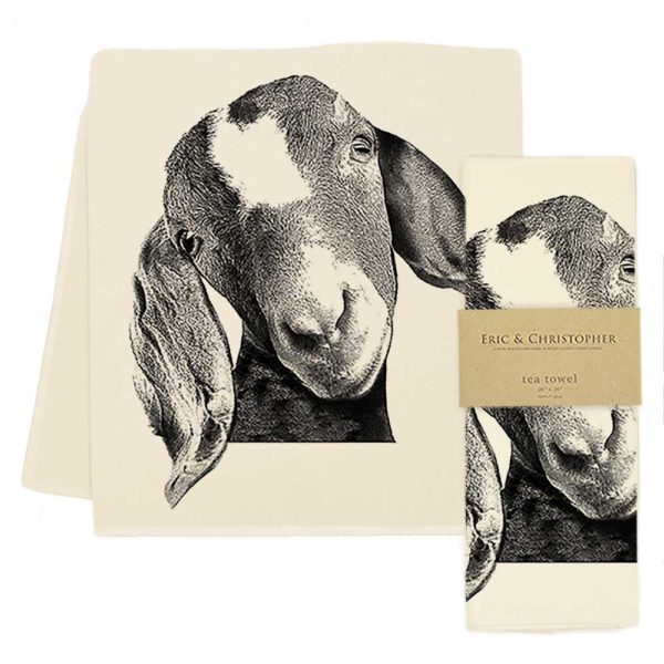 Goat Head Tea Towel