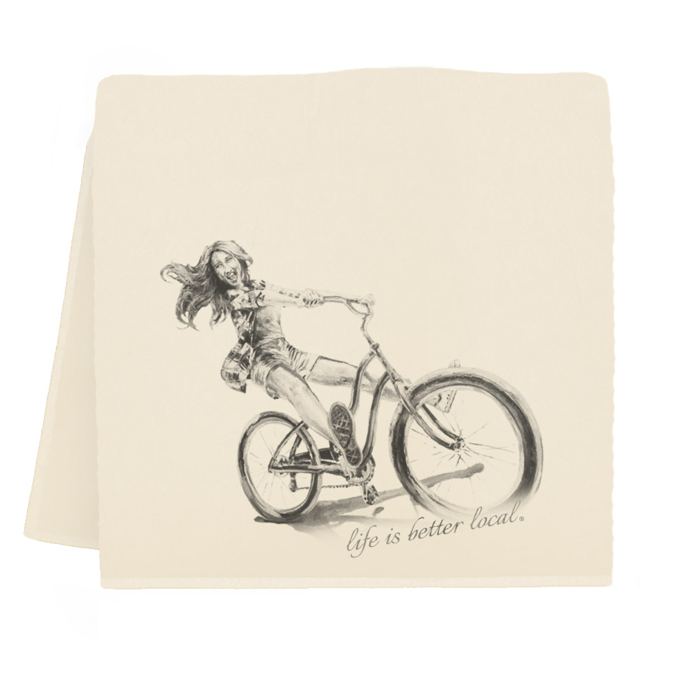 Bike #1 Tea Towel