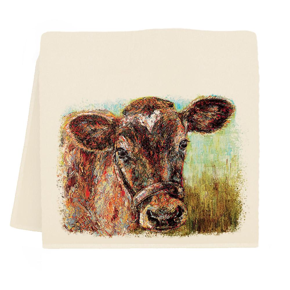 Cow #4 Tea Towel